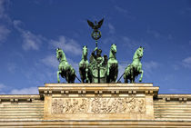 Quadriga - Brandenburger Tor Berlin by rumtreiberpictures