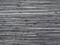 Holzwand von Georg Portet