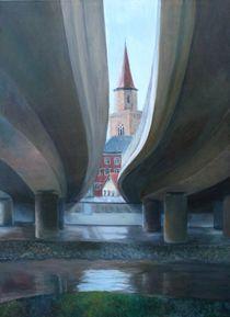 Ludwigsbrücke I von Barbara Stolzenhain