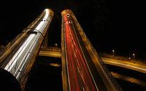 Autobahn bei Nacht by watzmann