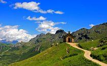 Weg zur Kapelle von watzmann