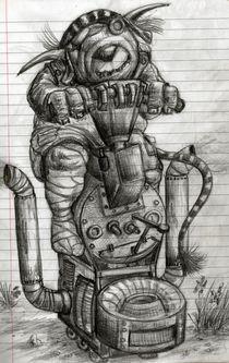 Troll machine von Vasiljevic Sasa