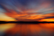 Sunset-Ammersee by Peter Bergmann