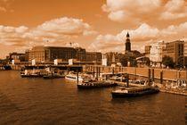 Hamburger Hafen by Christine Bässler