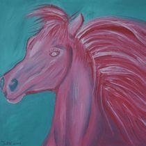 Pink Horse von Christine Bässler