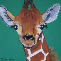 Giraffe Kinderbild by Christine Bässler
