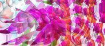 Blumenwelt von Cloude Vigal << Grafiknaturearts