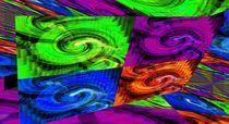 Farbige Welten von Cloude Vigal << Grafiknaturearts