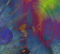 kosmicwoman by Cloude Vigal << Grafiknaturearts