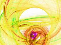 gelbe Welten von Cloude Vigal << Grafiknaturearts