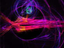 Alienship von Cloude Vigal << Grafiknaturearts