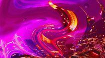 dancing city by night von Cloude Vigal << Grafiknaturearts