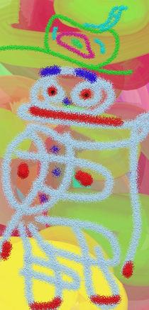Der Clown von Cloude Vigal << Grafiknaturearts