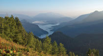 Blick ins Berchtesgadener Land von Rene Müller