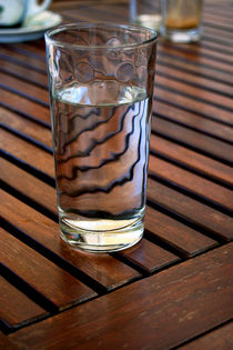 Wasser im Glas von pichris