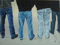 Männer in Jeans von Karl-Heinz Schmelz