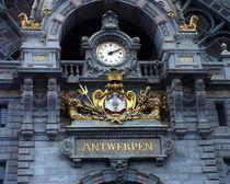 Bahnhof von Antwerpen von Inka Laurentius