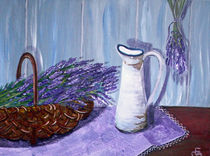 Lavendelkorb by elvi