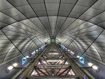 S-Bahn Station des hamburger Flughafens von benyamon