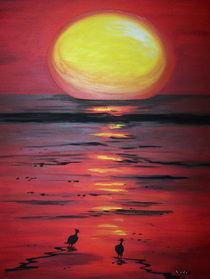 Sonnenuntergang am Meer von nele