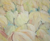 zarte gelbe Tulpen von Monika Jasmine