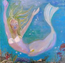 Kleine Meerjungfrau by Ulrike Schwarz
