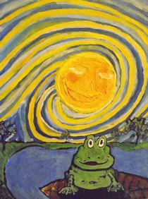 Ein Frosch im Traum von Jan Siebert