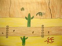 Pipeline in der Wüste von olivers