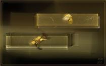 Goldbarren by deboracilli