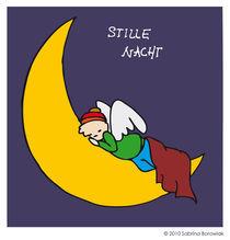 Engel Olaf schläft in seliger Ruhe by Sabrina Borowiak