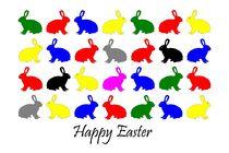 Happy Easter von Claudia Hake