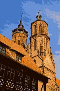Sankt Johannis in Göttingen by Claudia Hake