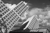 Potsdamer Platz Berlin by Norbert Fenske