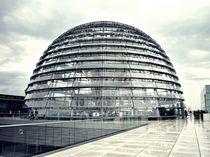 Kuppel vom deutschen Bundestag von Kirsten Hagedorn