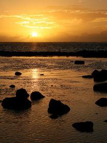 Sonnenuntergang am Meer by Norbert Fenske