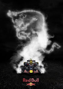 'F1 RED BULL' von snackdesign