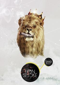 Lion-smoke