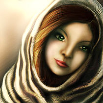 Middle east girl by HENNY PURWADI
