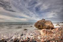 Findling an der Ostsee von Rico Ködder