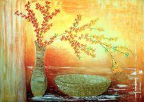 Blumenzweig von Maria Arato Magri