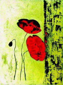 Mohnblume von Maria Arato Magri