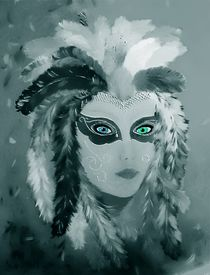 Karneval Maske von Maria Arato Magri