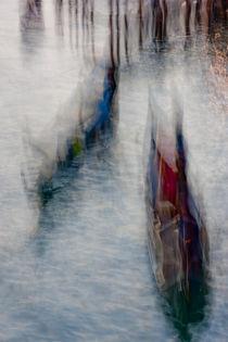 Gondeln in Venedig by Andreas Müller