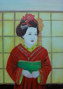 Die Geisha by G.Elisabeth Willner