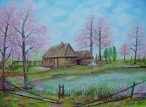 Frühling auf dem Land II by G.Elisabeth Willner