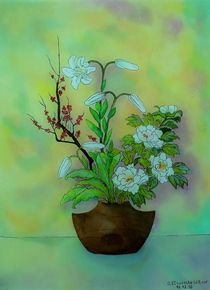Japanische Blume by G.Elisabeth Willner