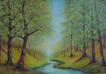 Landschaft by G.Elisabeth Willner