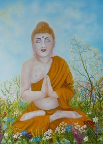 Buddha by G.Elisabeth Willner