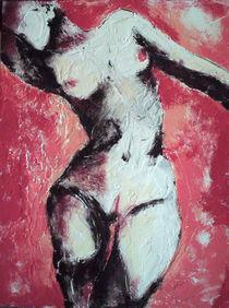 rosa akt by Olga David