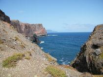 Küste einer Vulkaninsel von kaya-1